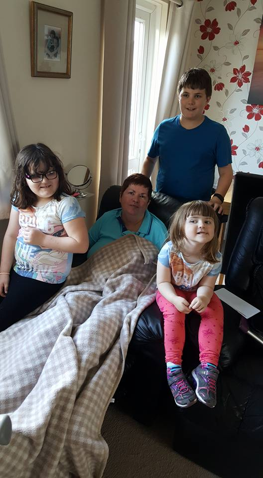 Karen And Grandkids